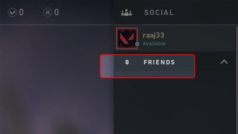 Ban đầu không có bạn bè