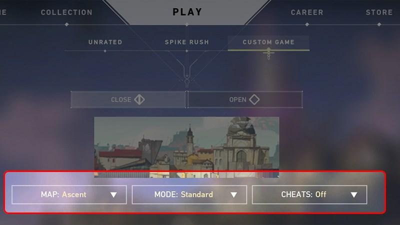 Map, Mode và Cheats