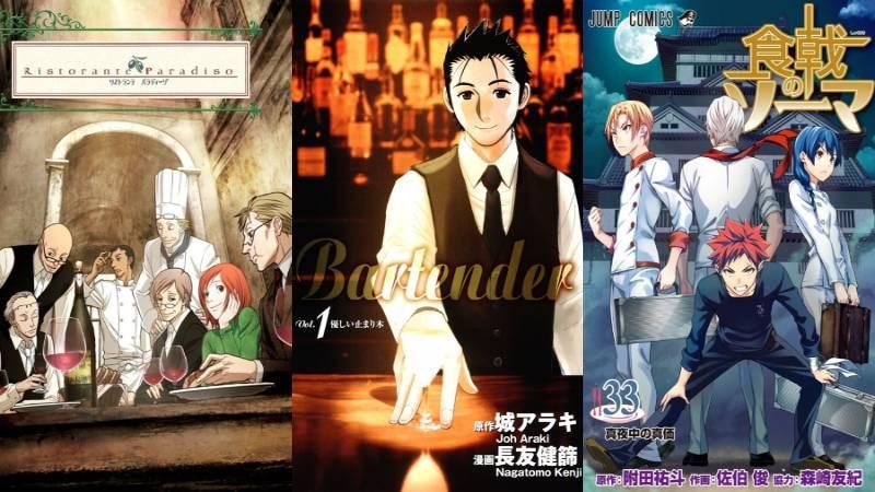 Top 15 phim anime về nấu ăn, ẩm thực hay nhất mà bạn nên xem