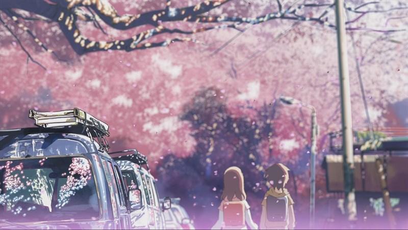 Ảnh nền hoa anh đào trong anime - 2 (Kích thước: 1920 x 1080)