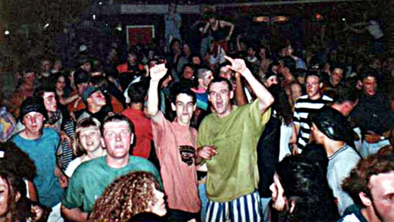 Ravers trong những năm 1980s