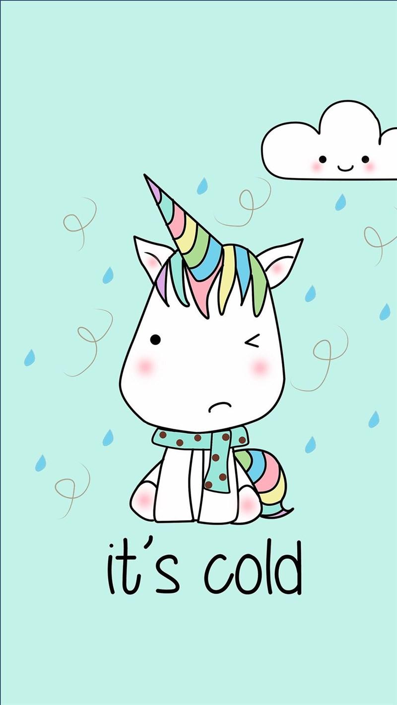 Hình nền Unicorn cute 8 - Kích thước 1920 x 1080