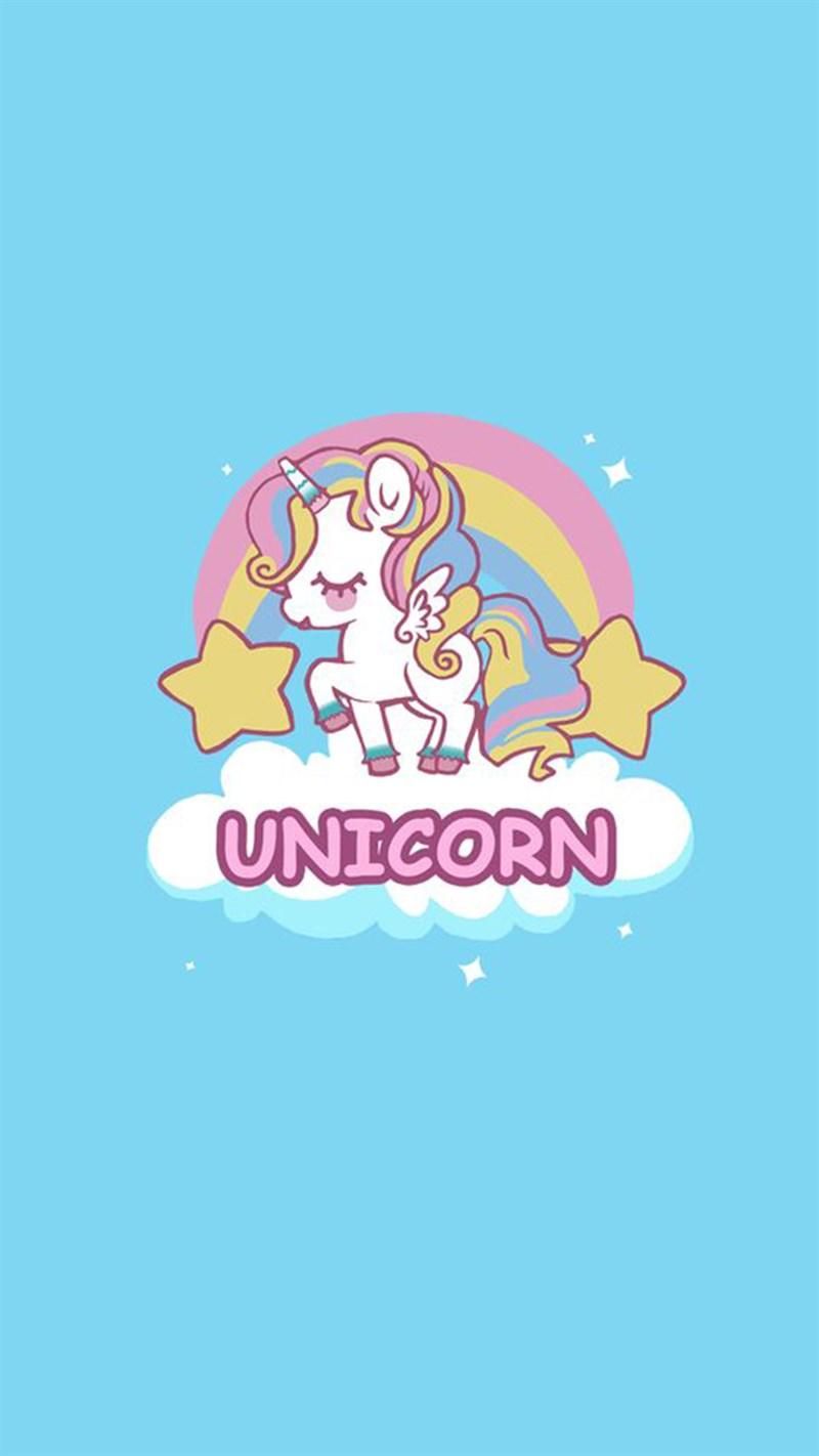 Hình nền Unicorn cute 14 - Kích thước 1920 x 1080