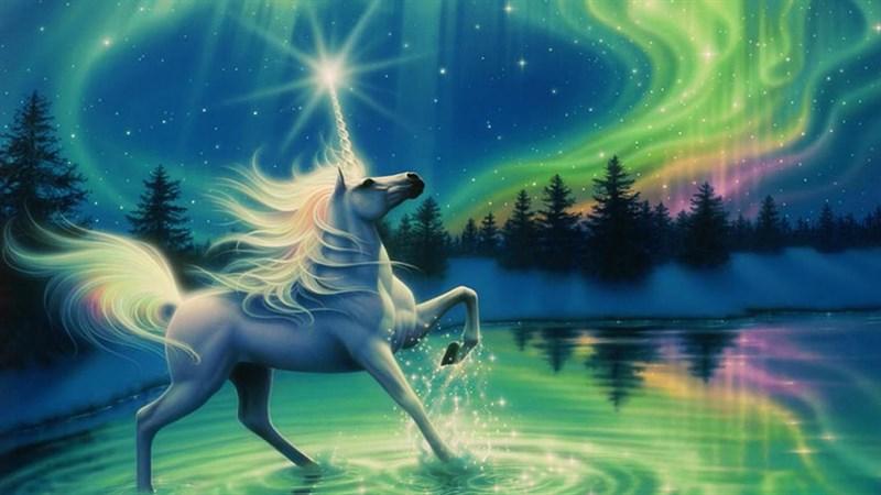 Hình nền Unicorn cute 11 - Kích thước 1920 x 1080