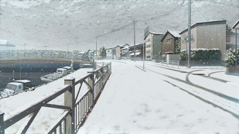 Hình nền anime mùa đông 1 (Kích thước: 1920 x 1080)