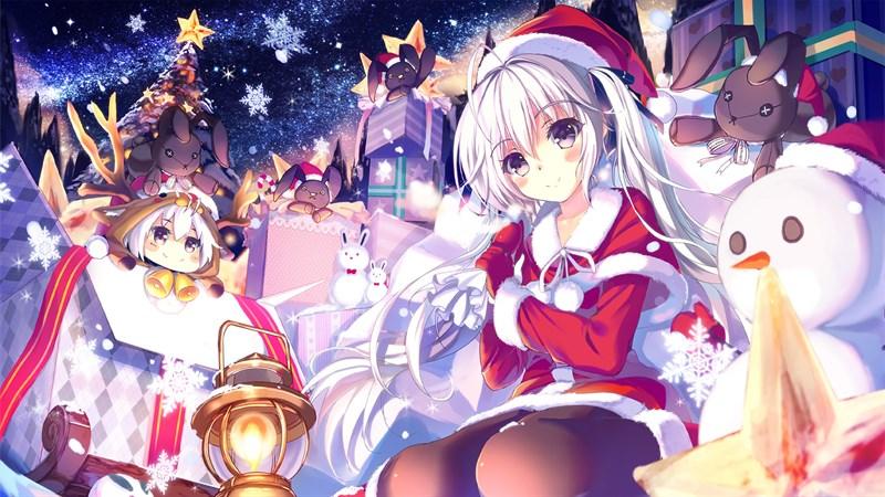 Hình nền anime mùa đông 5 (Kích thước: 1920 x 1080)