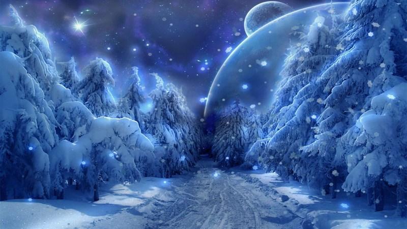 Hình nền anime mùa đông 6 (Kích thước: 1920 x 1080)