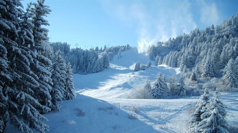 Hình nền bông tuyết, tuyết mùa đông 9 (Kích thước: 1920 x 1080)