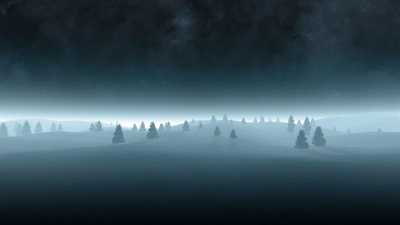 Hình nền mùa đông buồn, cô đơn 8 (Kích thước: 1920 x 1080)