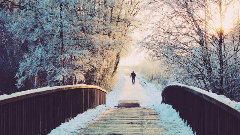 Hình nền mùa đông buồn, cô đơn 2 (Kích thước: 1920 x 1080)