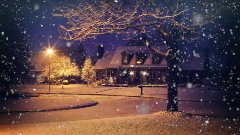 Hình nền mùa đông buồn, cô đơn 11 (Kích thước: 1920 x 1080)
