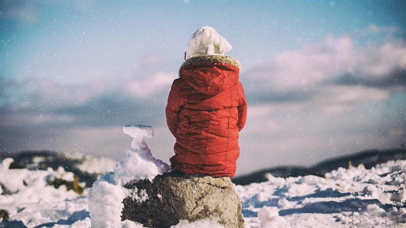 Hình nền mùa đông buồn, cô đơn 7 (Kích thước: 1920 x 1080)