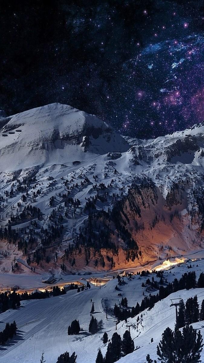 Hình nền mùa đông điện thoại 9 (Kích thước: 1080 x 1920)