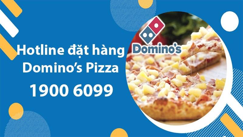 Số điện thoại đặt hàng Domino