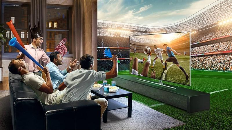 Theo dõi các trận đấu trên TV để có chất lượng tốt nhất nhé