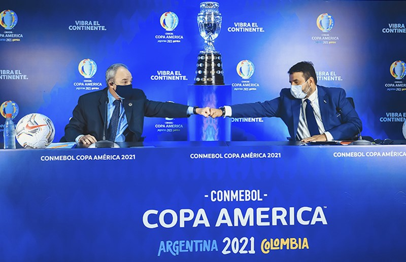 Xem mùa giải Copa America 2021 qua các ứng dụng trên điện thoại