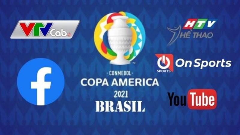 5 cách xem Copa America 2021