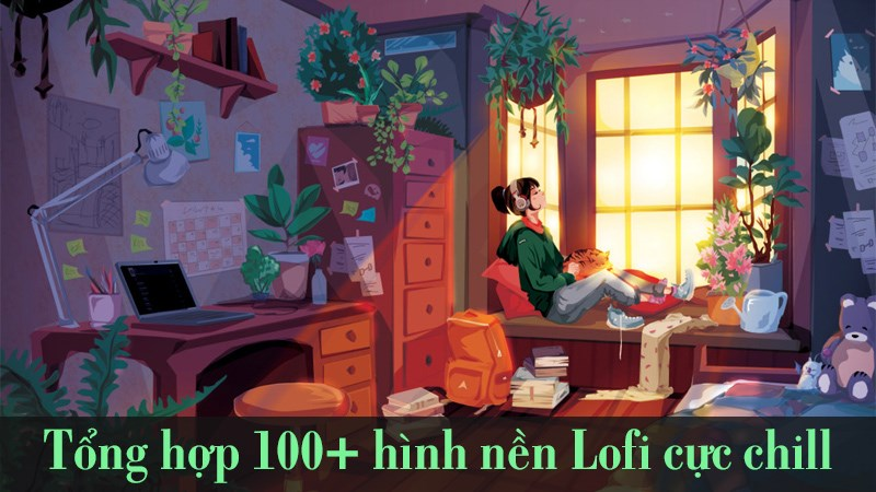 Hình nền Lofi buồn cho máy tính 1 (Kích thước: 1920 x 1080)