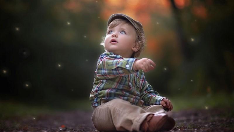 Hình bé trai dễ thương 10 (Kích thước: 1920 x 1080)