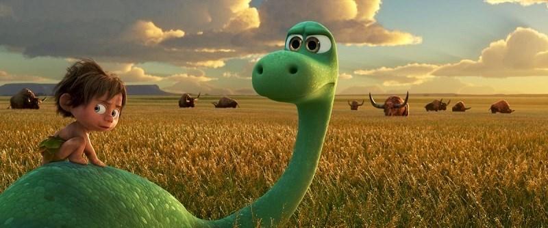 Tình bạn giữa cậu bé con người Spot và chú khủng long ăn cỏ Arlo