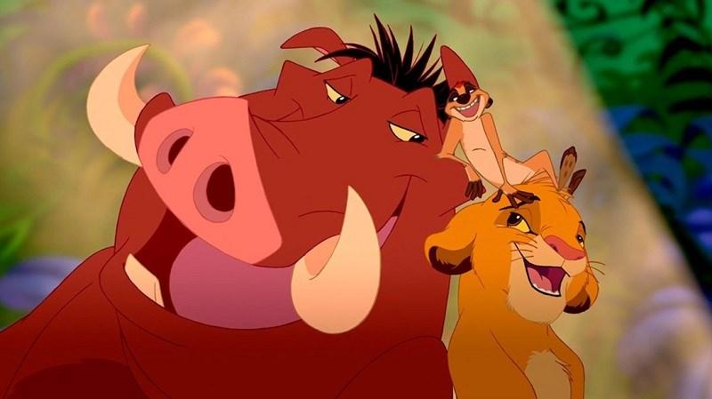 Tình bạn giữa Timon, Simba và Pumbaa