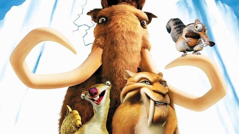 Bộ tứ Sid, Manny, Scrat, Diego