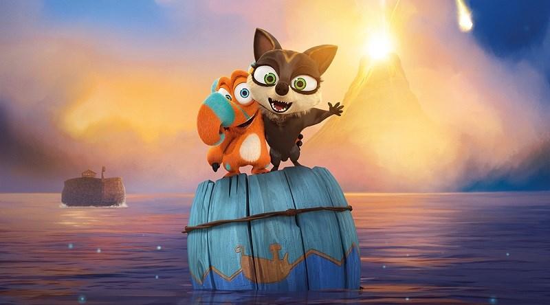 Nhân vật Finny và Leah trong phim