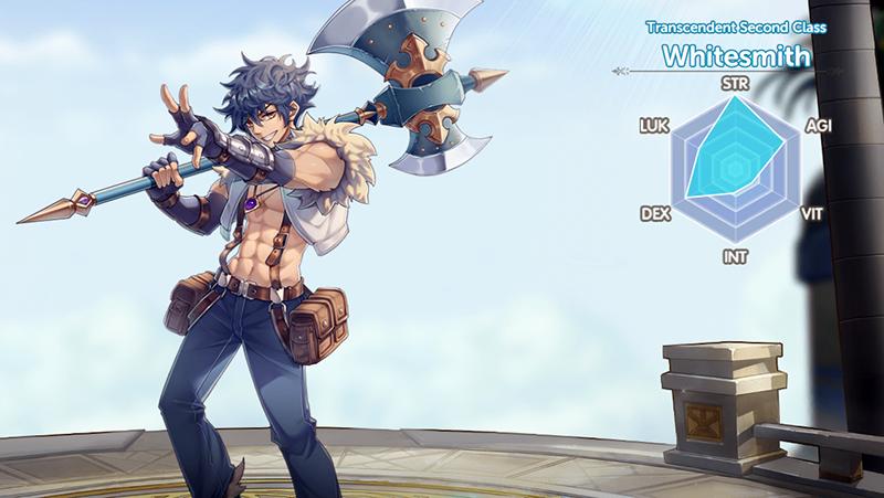 Nhận giftcode game Ragnarok X Next Generation mobile miễn phí Whitesmith-800x451
