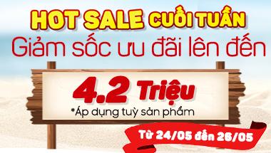 Hot Sale cuối tuần