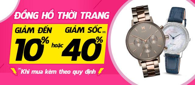 2019 - MA - Dong Ho Thoi Trang