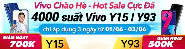 Vivo chào hè - Hot Sale cực đã
