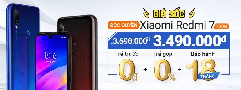 2019 - MA - Xiaomi Redmi 7 32GB Đổi Giá