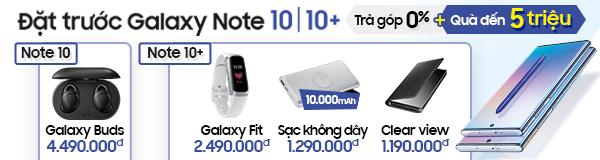Đặt trước Note 10, Note 10+