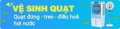Promote vệ sinh máy giặt cate quạt