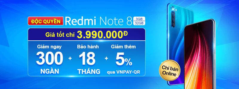 Redmi Note 8[break]Giá Chỉ 3.990.000đ