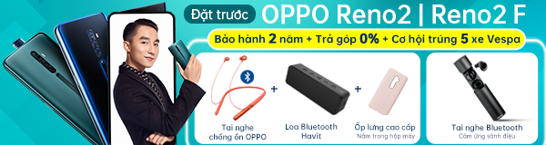 Đặt trước OPPO Reno2, OPPO Reno2 F