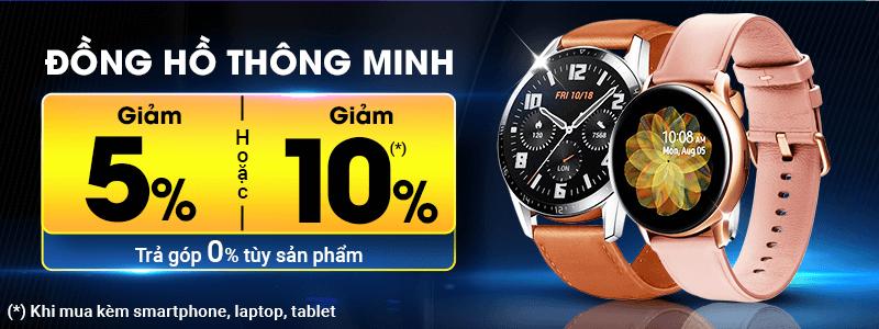 Đồng Hồ Thông Minh[break]Giảm Đến 10%