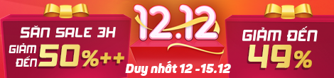 Giá sốc 12.12