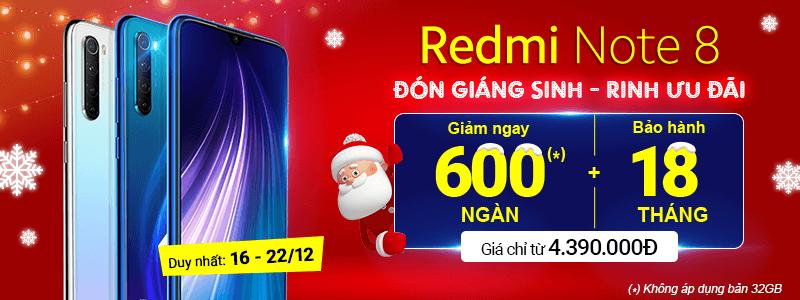 Redmi Note 8[break]Giảm Ngay 600 Ngàn