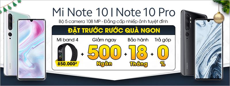 Đặt Trước[break]Mi Note 10 | Note 10 Pro