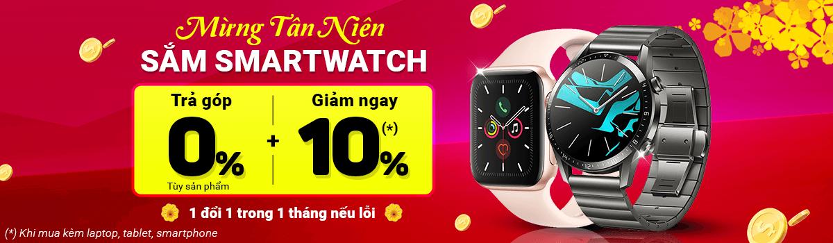 Đồng Hồ Thông Minh[break]Giảm Ngay 10%