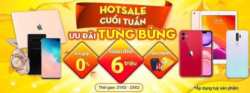 Hotsale Cuối Tuần[break]Giảm Đến 6 Triệu