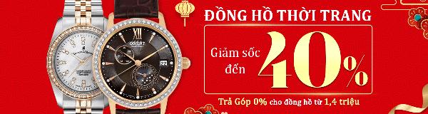 Đồng hồ thời trang giảm giá