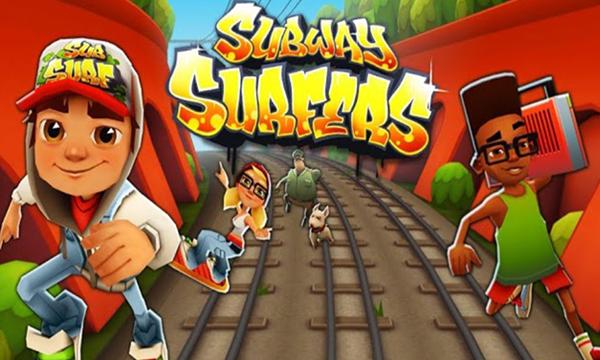 Subway Surfers - Siêu quậy đường tàu