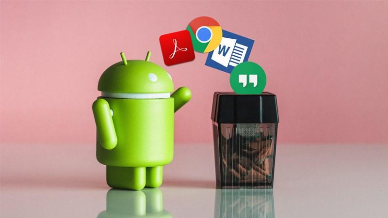 gỡ bỏ hàng loạt ứng dụng với sự hỗ trợ của Google Play Store