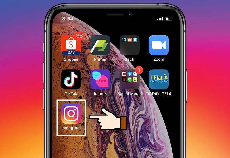 Ứng dụng ngoài menu điện thoại