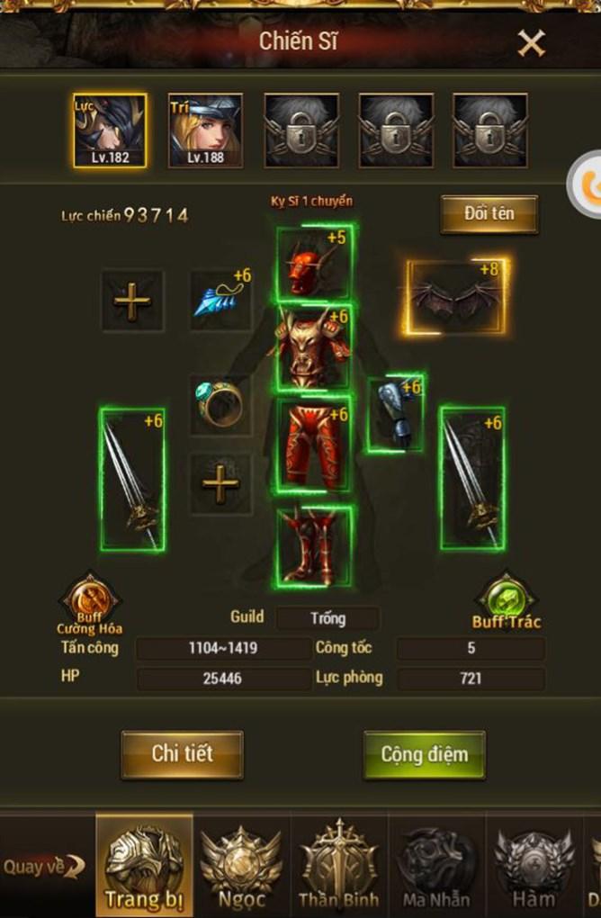 game MU Đại Thiên Sứ H5