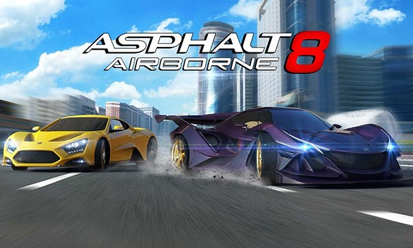 Asphalt 8: Airborne - Game đua xe miễn phí cực hay