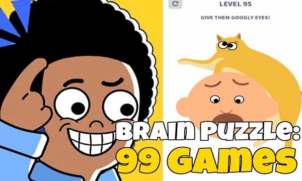 Brain Puzzle: 99 Games - Trò chơi thử thách xoắn não siêu vui nhộn
