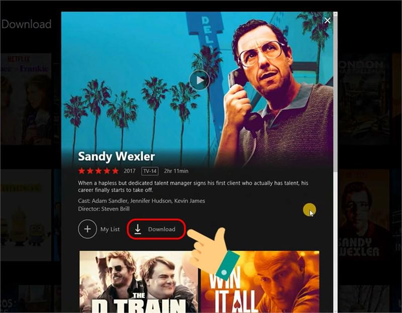 Download phim từ Netflix